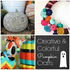 Creative, No Carve Pumpkin Home Decor and Craft Ideas | #pumpkin #pumpkinideas #primpyourpumpkin