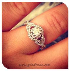 Diamond Wedding Rings : My engagement ring! - Buy Me Diamond Wedding Engagement, Wedding Rings, Engagement Rings, Ring Designs, Tungsten Wedding Bands, To Infinity And Beyond, Ring Verlobung, Dream Ring, Diamond Are A Girls Best Friend