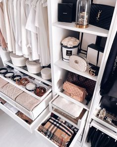 visit our website for the latest home decor trends . Closet Tour, Bed In Closet, Room Closet, Master Closet, Walk In Closet Inspiration, Room Inspiration, Wardrobe Room, Celebrity Closets, Celebrity Style