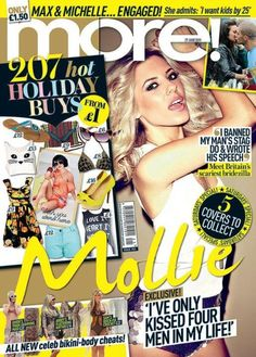 Mollie King for More! Magazine UК, June 27th 2011