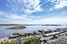 View of Halifax Seaport District from The Westin Nova Scotian - Halifax, Nova Scotia