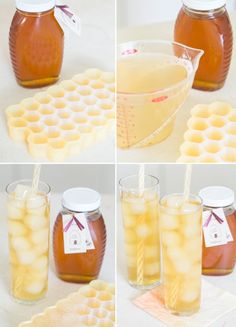 Sweeten up your iced tea with honey infused ice cubes. | Community Post: 14 Ways To Take Your Ice Cubes To The Next Level
