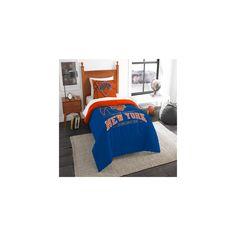 NBA New York Knicks Northwest Reverse Slam Twin Comforter Set