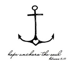 hope anchors the soul this exactly on my forearm!!!!!