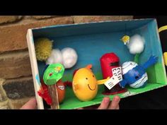 How to make a Mr Men Egg Decorating Diorama for the School Egg Decorating Competition! We love decorating eggs for Easter and for the School Egg Competition Egg Crafts, Bunny Crafts, Pokemon Eggs, Cute Egg, Under The Sea Theme, Cute Mermaid, Egg Decorating, Paint Cans, Art Blog