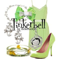 """""""Tinkerbell"""" by whisperwings44 on Polyvore"""