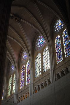 Chartres Cathedral - stained glass heaven