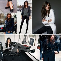 Emmanuelle Alt // Style icon via Good Looks Daily