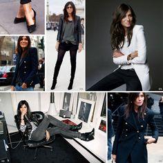 Emmanuelle Alt // Style icon via Good Looks Daily