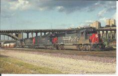 Postal Trenes (01) de los Estados Unidos - Editor Mary Jayne,año 1996 sin circular