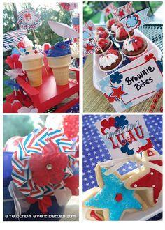 4th of July cute desserts