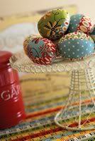 Fabric Easter Eggs