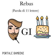 REBUS FACILI PER BAMBINI 3, Dads, Funny, Alphabet, Fantasy, Parents, Wtf Funny, Fathers, Father