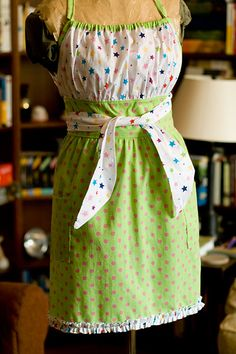 Believe it or not, I actually really like to cook....really. And this cute apron isn't half bad either.