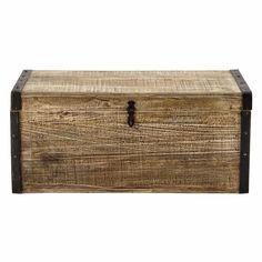 Baúl de madera An. 80cm KAELIG
