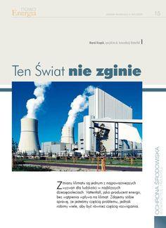 Tenświatniezginie  Co robi przemysł energetyczny dla klimatu Ziemi.