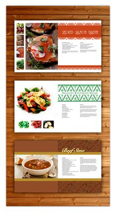 Envoyer le pt en dition graphic pinterest print texts layout of a cook book each recipe spread is unique forumfinder Gallery