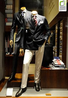 Boggi Milano window displays Budapest