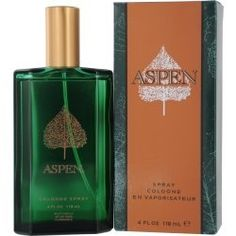 ASPEN by Coty COLOGNE SPRAY 4 OZ by ASPEN. $8.99. 100% SATISFACTION GUARANTEED. All of the products showcased throughout are 100% Original Brand Names.. Please refer to the title for the exact description of the item. Launched by the design house of Coty in 1989, ASPEN by Coty for Men posesses a blend of: outdoorsy scents including woods, citrus and spices. It is recommended for daytime wear.