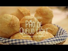 Receita de pão de queijo light da Lucilia - Lucilia Diniz Special Recipes, Quick Recipes, Great Recipes, Cooking Recipes, Healthy Recipes, Healthy Drinks, Healthy Eating, Comidas Light, Tasty