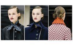 Top 20 Hair Trends Fall/Winter 2013 - 2014 Miu Miu