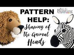 PATTERN HELP: Crochet Animal Heads - YouTube