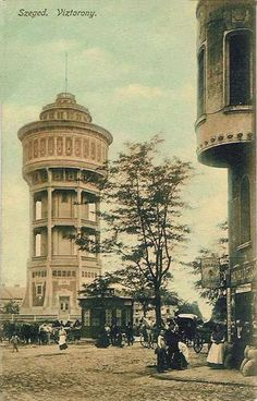 Austro Hungarian, Water Tower, Hungary, Budapest, Big Ben, Europe, Punch Needle, History, Building