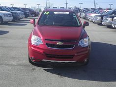 Buy a used car in Frankfort, Illinois Chevrolet Captiva Sport, Car Ins, Illinois, Chicago, Crystal, Red, Crystals