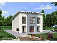 Creativ Sun 132 - #Einfamilienhaus von Bau Braune Inh. Sven Lehner | HausXXL #Massivhaus #Energiesparhaus #Nullenergiehaus #modern #Pultdach