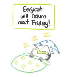Enough people have asked so I figured I had to make a formal post – shoulda figured I couldn't sneak one past you guys! GenjiCat will resume this Friday 6/30 – I missed last Friday bc I was recuperating from AwesomeCon but also because I had some big...