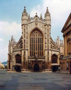 Bath Abbey, Somerset, England by Beardy Vulcan