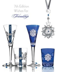 Waterford Crystal Snowflake Wishes - 2017 Friendship