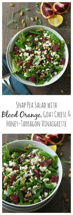 Goat cheese LOVERS listen up! This simple salad is bursting with bright, fresh flavors.