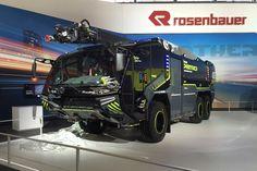 Interschutz-Auftakt: Rosenbauer stellt neuen Panther vor » Feuerwehr-Magazin