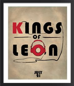 kings of leon on Etsy, a global handmade and vintage marketplace.