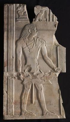 Mentuemhat como sacerdote.  años 667-647 BC. Egipto, Tebas, Período Tardío, última dinastía XXV a principios de la dinastía XXVI.