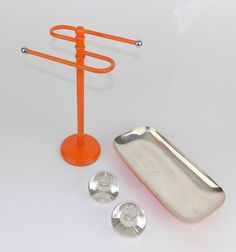 Any orange fans out there? This hand towel stand doesn't taste very good but it's easy on the eyes! No calories either.    #colorful #color #colors #rainbow #flowers #style #fashion #spring #painting #bestoftheday #instadaily #creative #nails #baskets #shoes #basketball #pink #black #blue #interiors #beach #water #home #techno #building #interiordesign #interior #design #architecture #house https://www.etsy.com/listing/487401786/orange-necklace-holder-hand-towel-rack