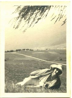 Gita sui colli, 1922