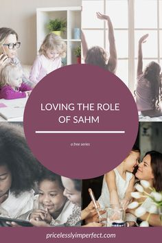 Avoiding mom burnout, learning to love the dishes and deepening your family relationships are all covered in this free SAHM series.