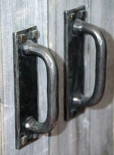 Rustic Hardware, Antique Hardware, Barn Door Hardware, Barn Door Latch, Cube Furniture, Gate Handles, Metal Bender, Blacksmith Forge, Stone Pillars