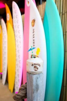 Summer In Nyc, Malibu Rum, Tabu, Kicks, Cocktails, Coconut, Sequins, Bows, Surf Boards