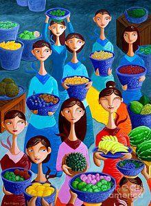 Painting - Tutti Frutti by Paul Hilario