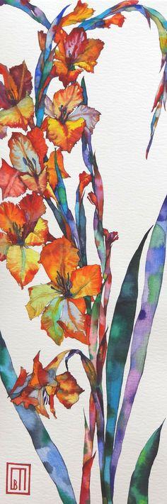 Gladioli « by Sophia Perina Miller