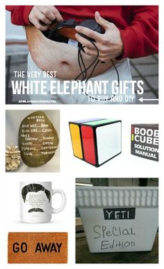 The Best white elephant gifts! - A girl and a glue gun : The Best white elephant gifts! - A girl and a glue gun Gift For Friend Girl, Diy Gifts For Friends, Gifts For Boss, Friend Birthday Gifts, Birthday Wishes, Mason Jar Crafts, Mason Jar Diy, Wine Gifts, Gag Gifts
