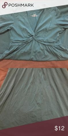 Size small, Patagonia dress 3/4 sleeve, turquoise dress with an a-Line bottom. No tears, stains, and ready to wear. Bottom is to knees. North Face Dresses Midi