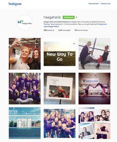 Community managing / kehittäminen; Haaga-Helia ammattikorkeaoulun Instagram -yhteisö. Jatkuvasti kasvavassa joukossa yli 1200 seuraajaa (14.6.2015) https://instagram.com/haagahelia/
