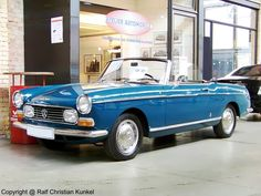 1963 Peugeot 404 Superluxe Convertible Pininfarina