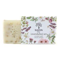 Levandulový sen - přírodní mýdlo s kozím mlékem Savon - Krásná Každý Den Soap