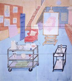 David Hockney - L.A Studio 2003