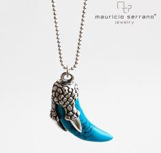 Make it a Blue Saturday!!!! Un sábado azul... #UnaVerdaderaJoya #ElArteDeRegalar #LaJoyaDel14   #MauricioSerrano #Mexico #2015 #Love #Fashion #Art #Joyas #Diseñador #Plata #Silver #Jewelry #Happiness #Trends #Dragon #Gifts #SanValentines #Pendant #Dije
